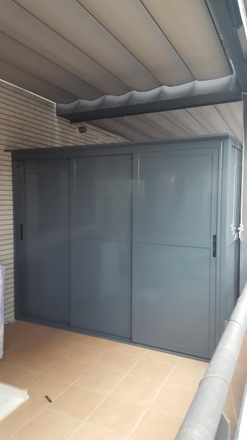Armario de aluminio exterior ideas armarios for Armarios de pvc para exterior