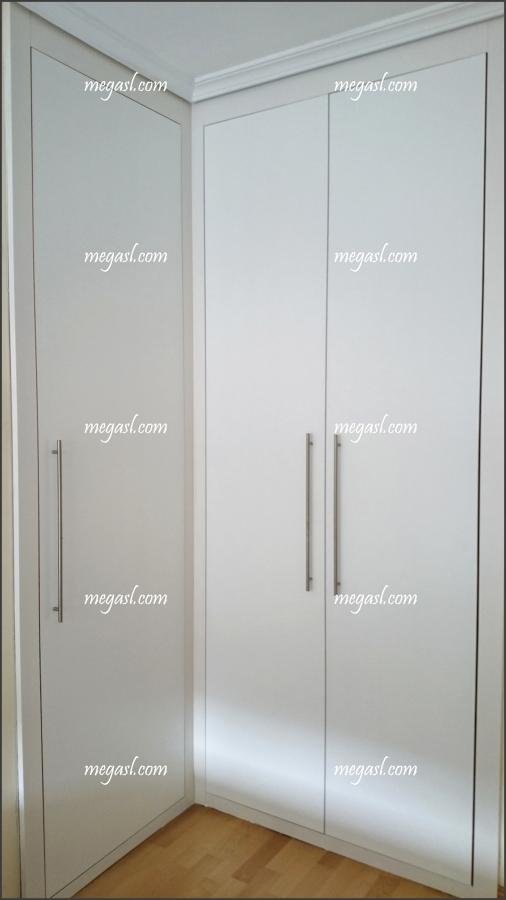 Lacar puertas en blanco en madrid ideas armarios - Armario blanco lacado ...