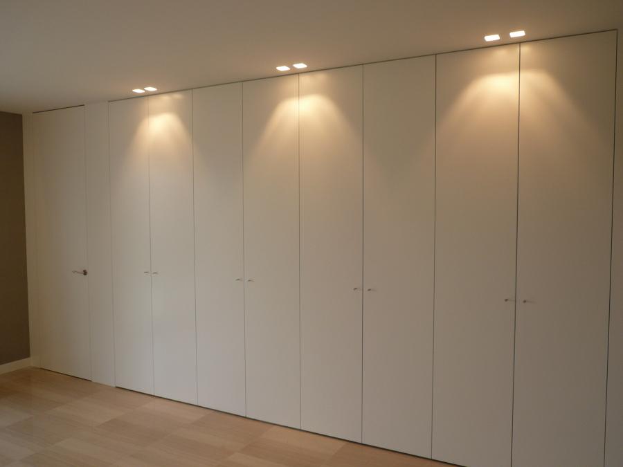 Foto armario lacado en blanco de carpinteria daniel - Armario blanco lacado ...
