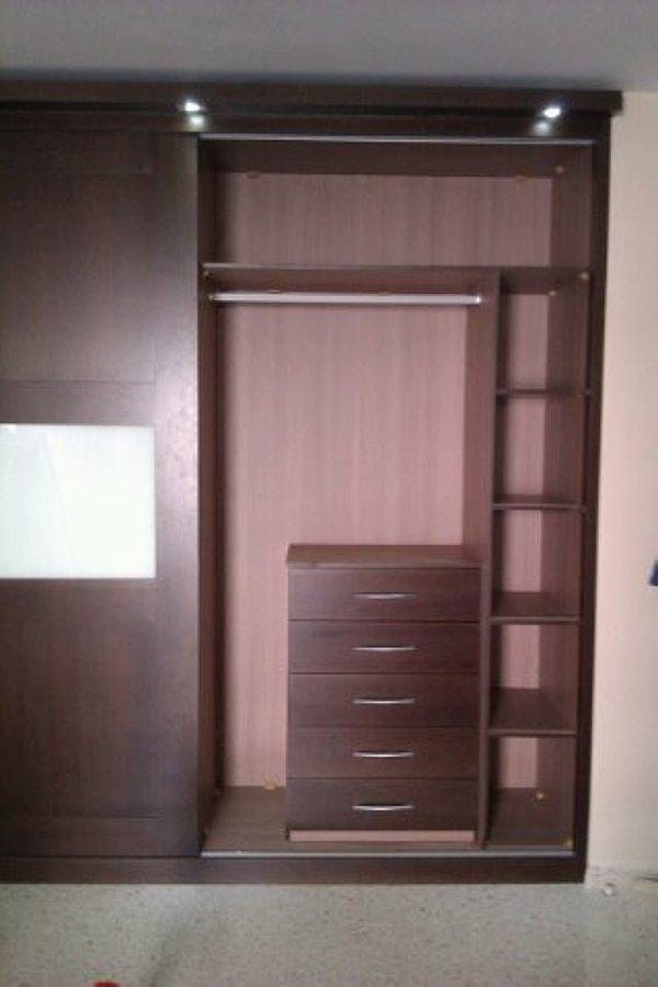 Armario a medida con puertas correderas modelo 9 ideas for Puertas madera a medida