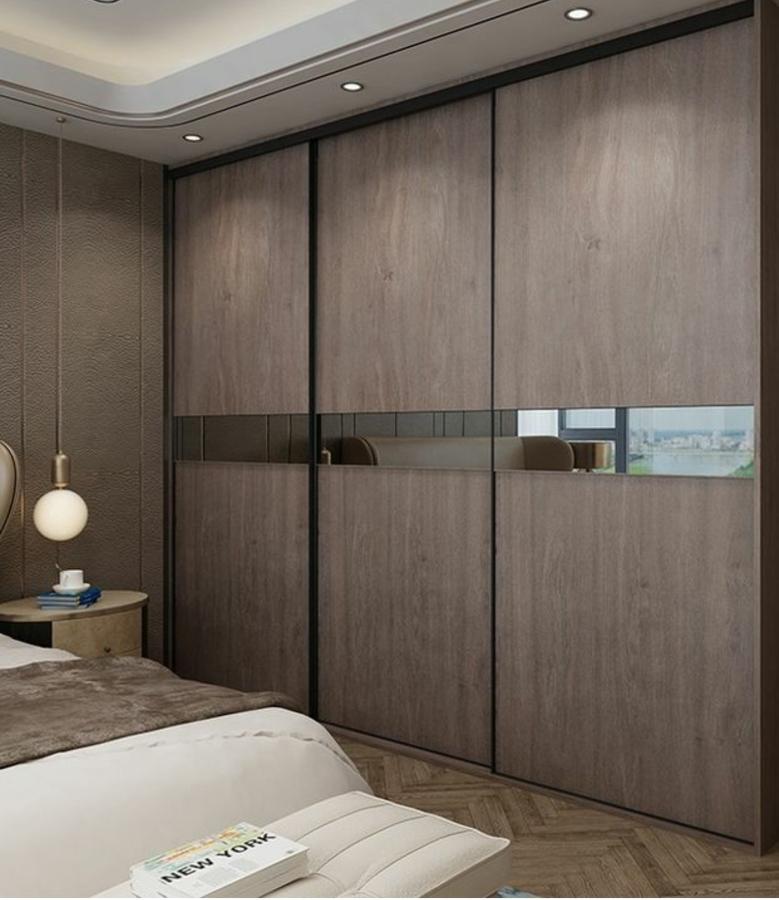 Armario puertas correderas con espejo