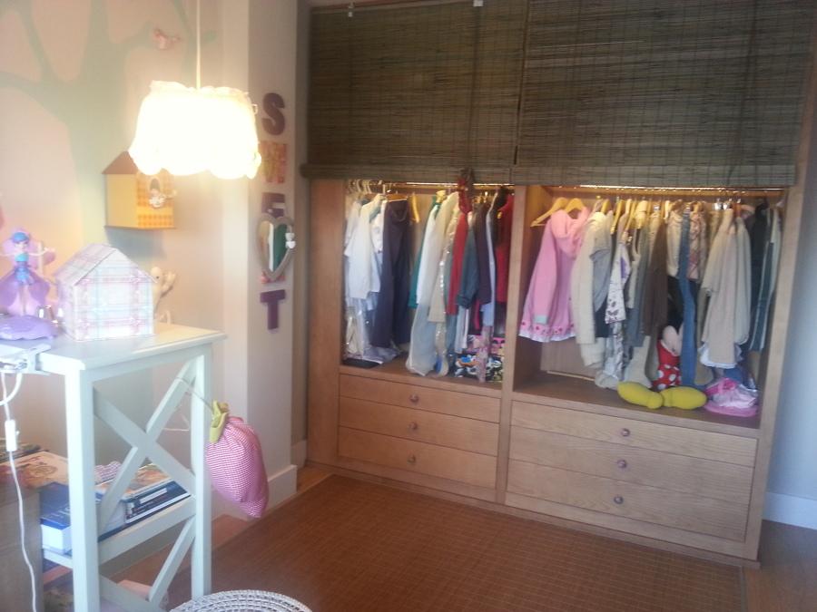Armario ropero dormitorio niña - Fresno