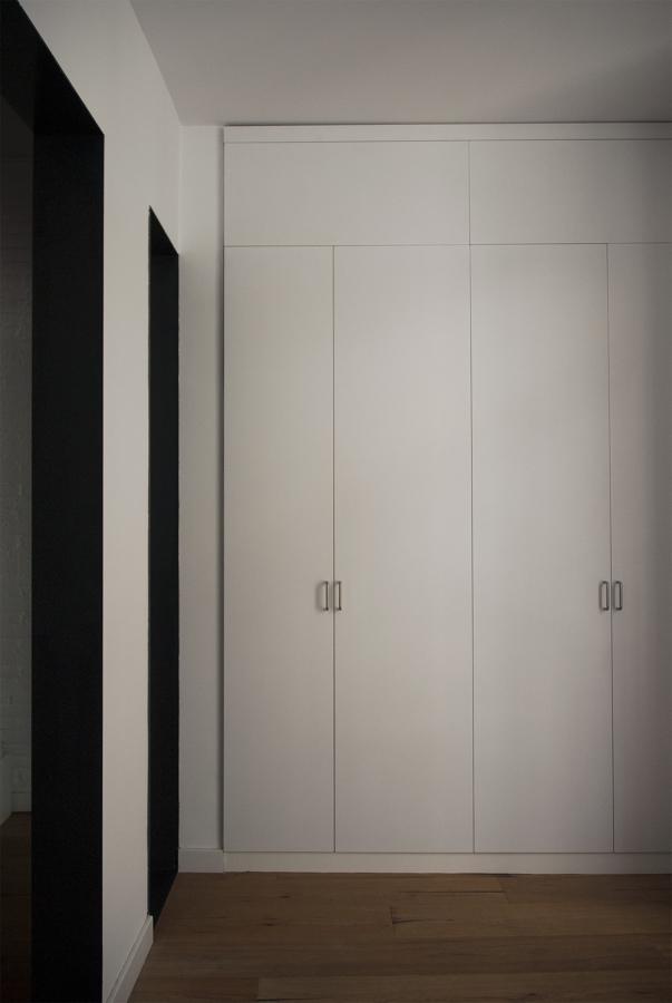 armarios empotrados en la galería