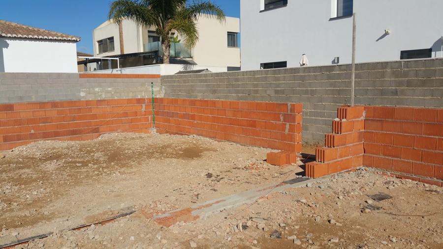 Arranque de los muros estructurales