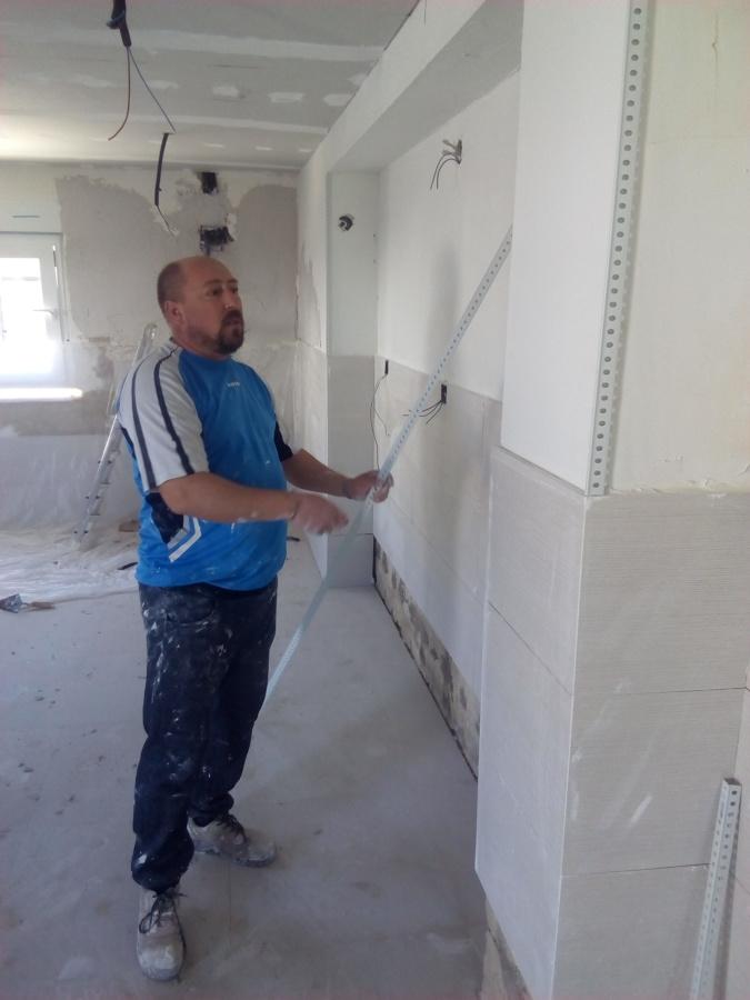 arreglar esquina pared