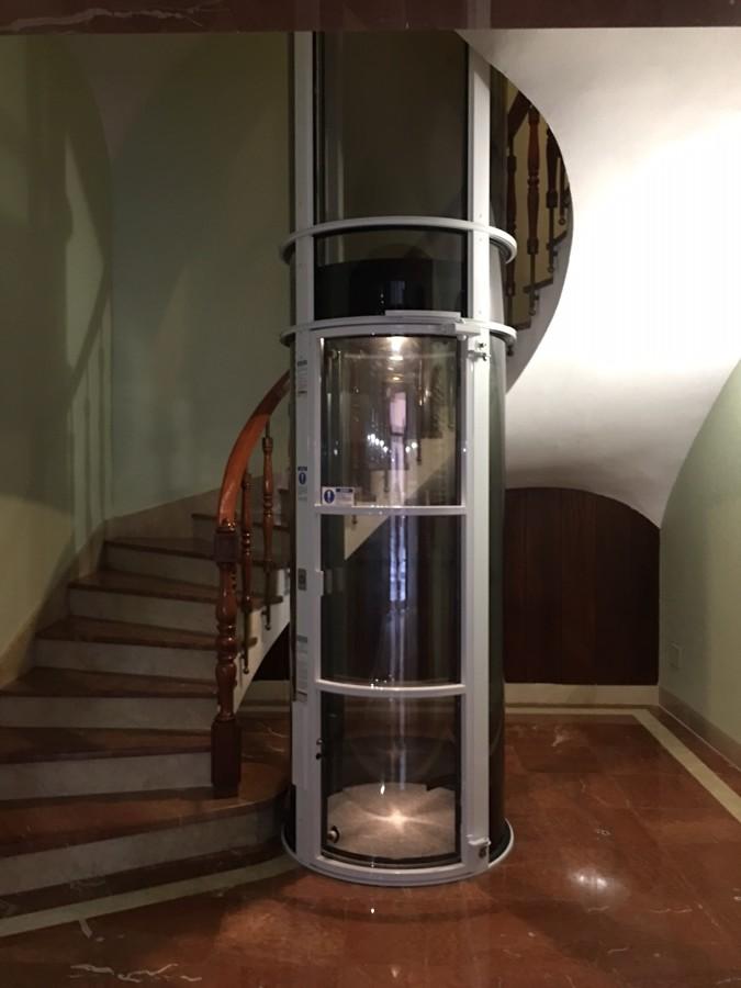 Ascensor Neumático Instalado por nosotros en Orihuela