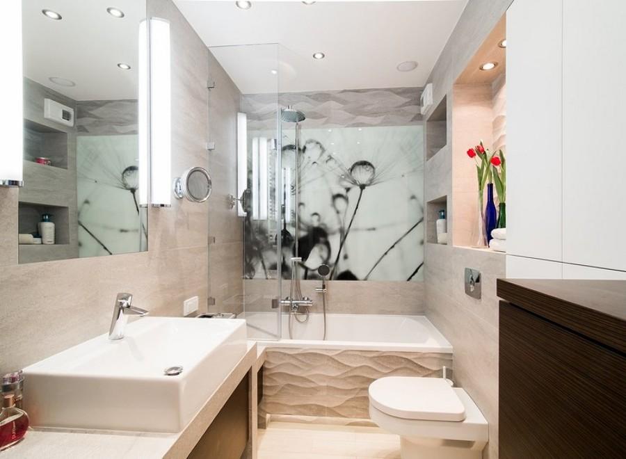 baño que se agrande visualmente por una foto