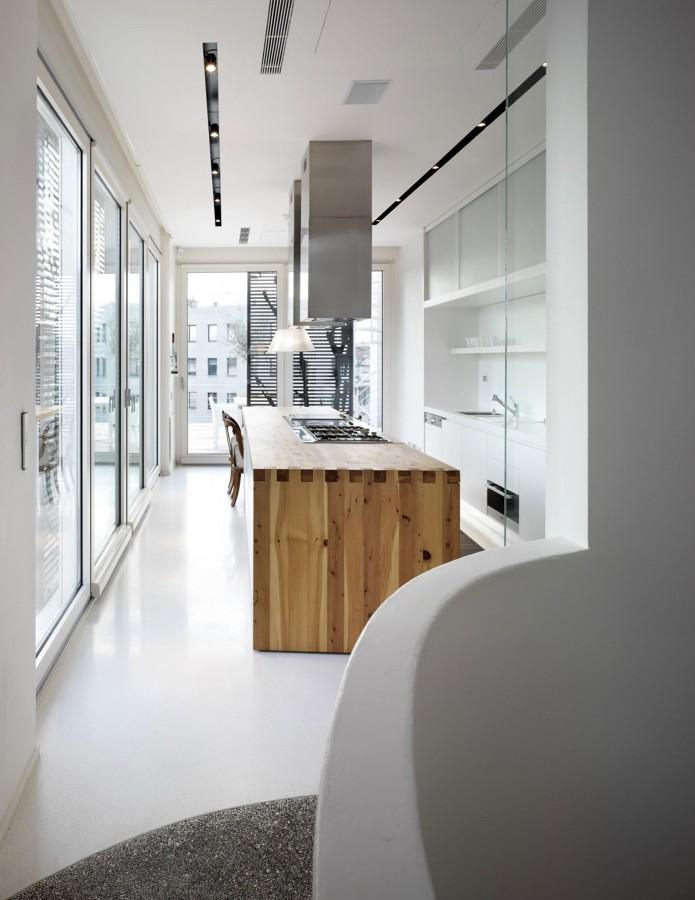 suelo resina cocina
