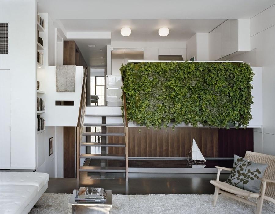 jardín vertical intertior