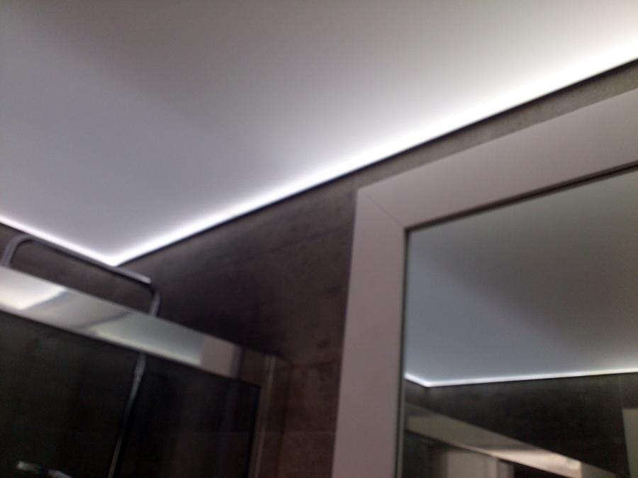 Foto aseo traslucido de ek techos tensados 402684 - Techos tensados barcelona ...