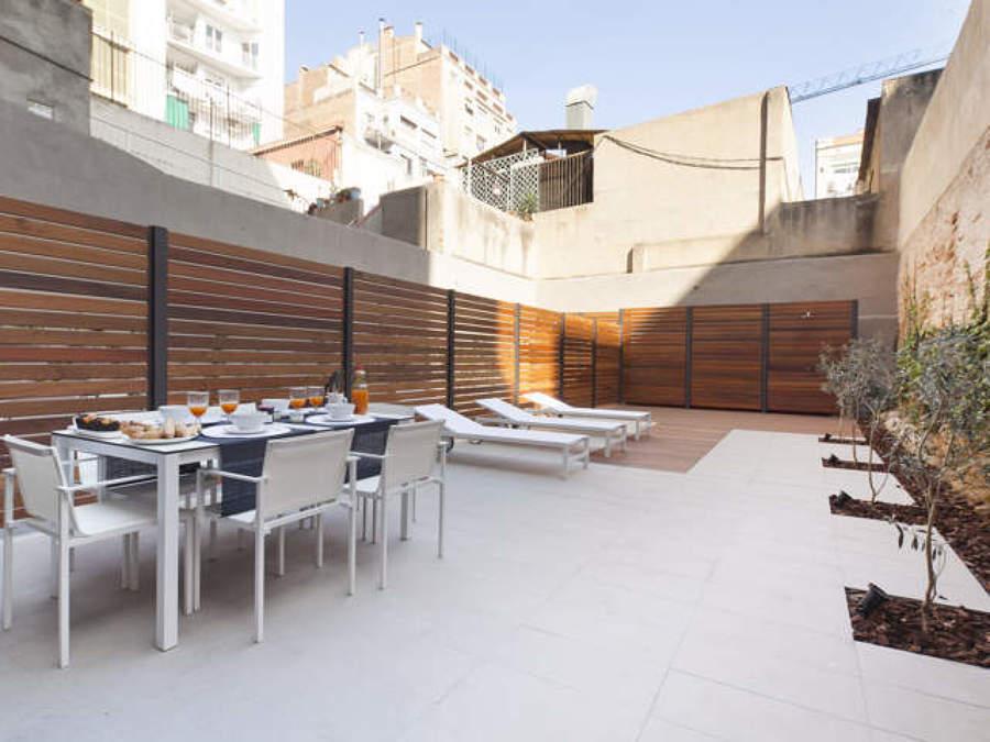 ASÍ HA QUEDADO El patio