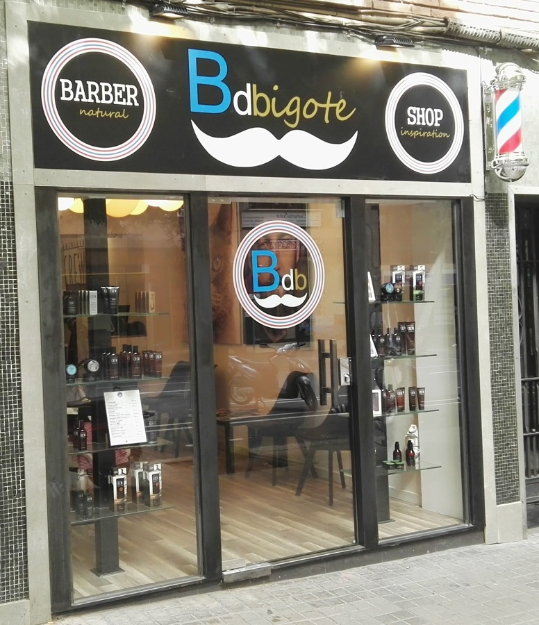 ASÍ HA QUEDADO Vista de la barbería BdBigote