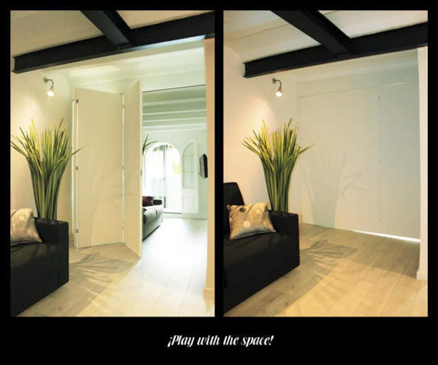 Foto: Así lo hacemos como Dividir dos Ambientes Salón · Habitaciones ...