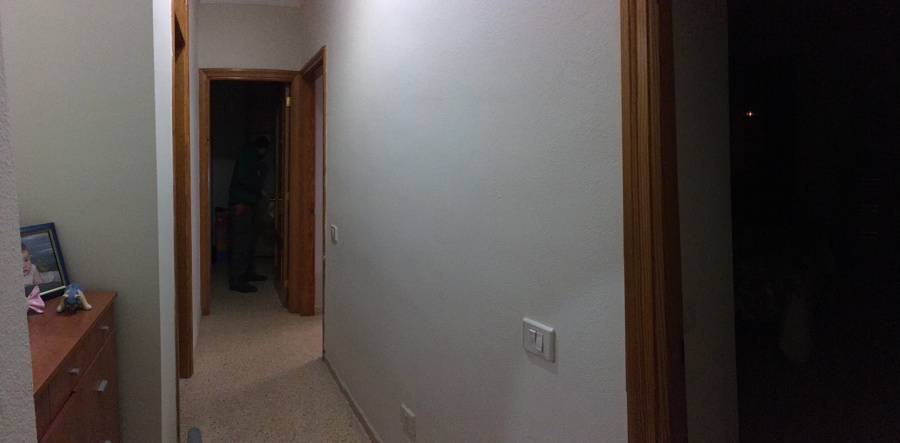 Así lucía este pasillo.
