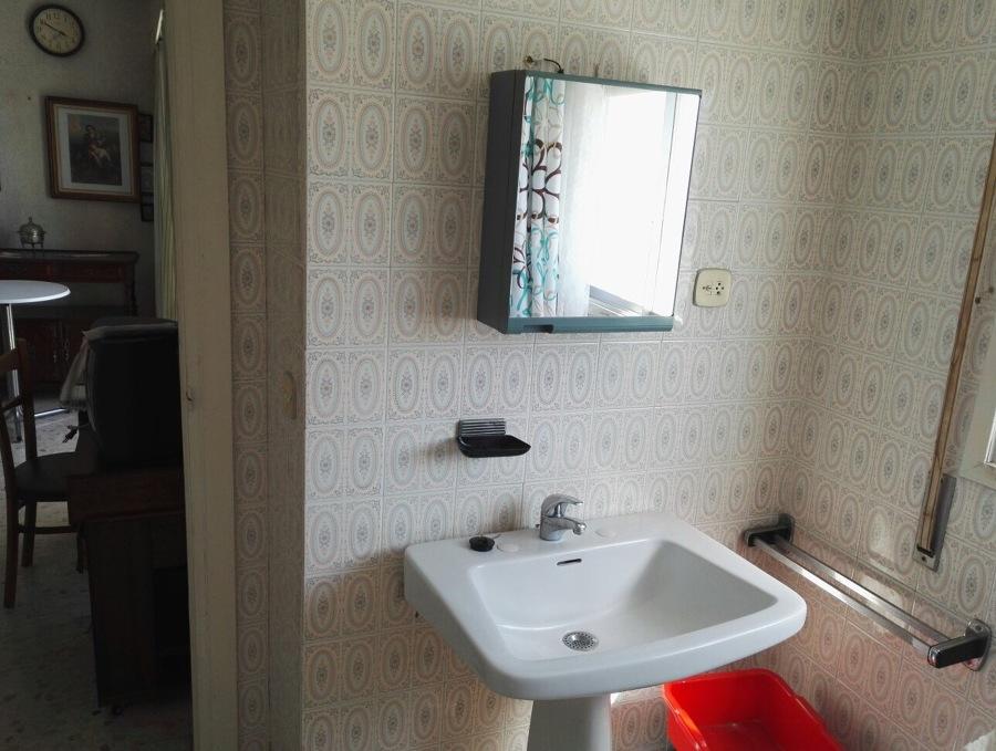 Aspecto de parte del baño antes de reformar