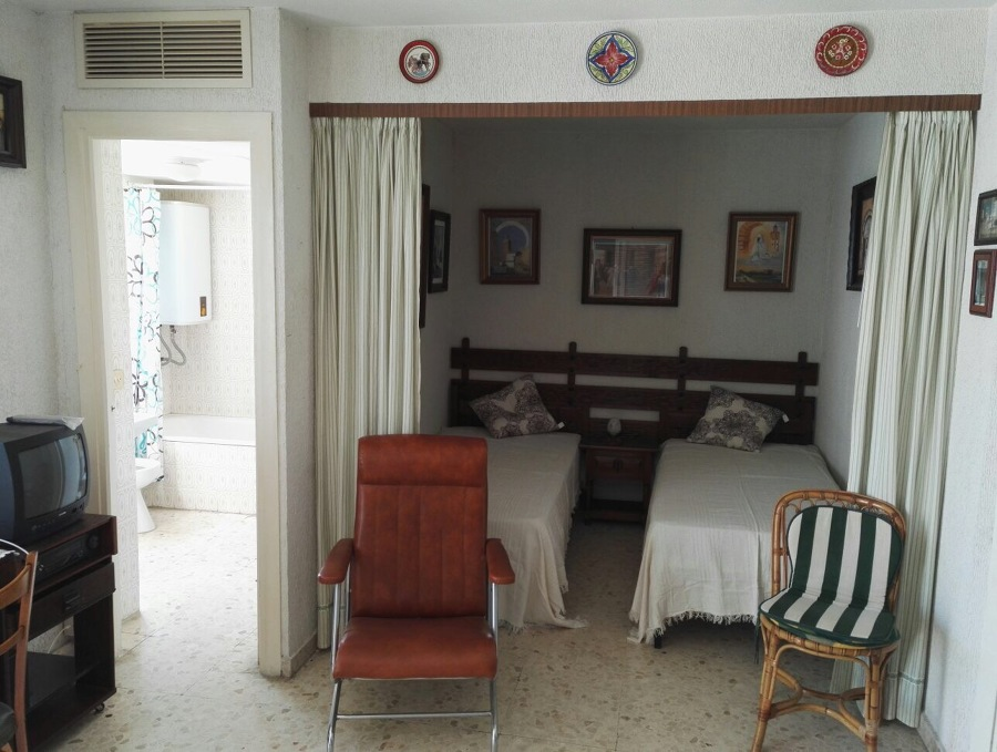 Aspecto del dormitorio antes de reformar