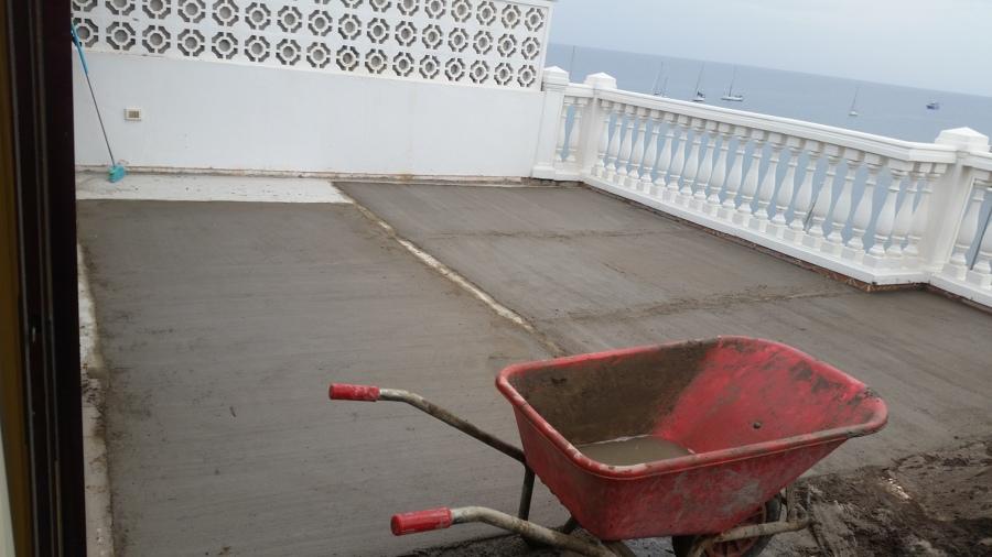Atezado de terraza