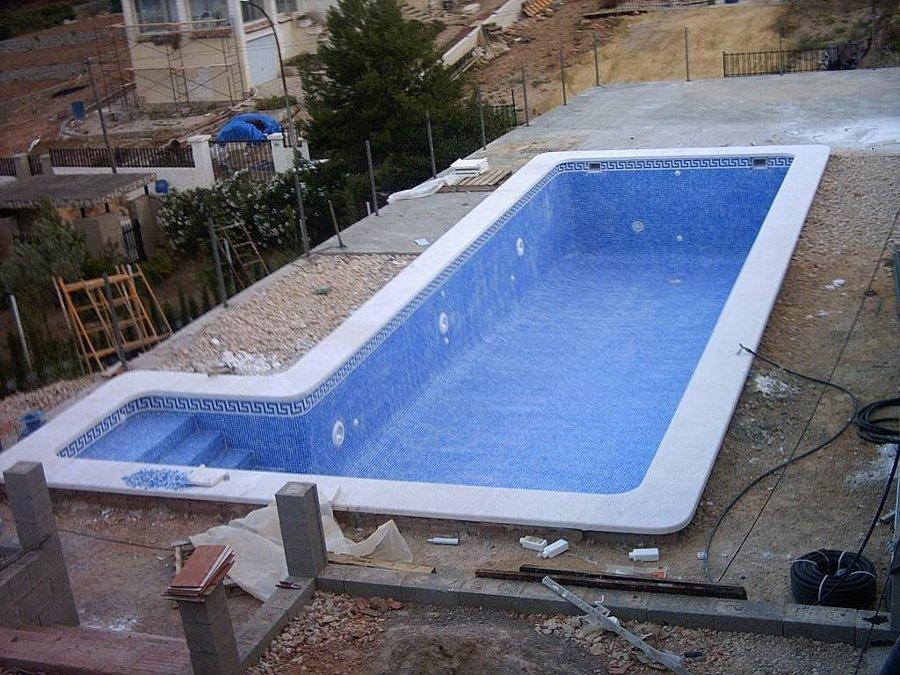 Piscina de obra murcia ideas construcci n piscinas - Materiales para hacer una piscina ...