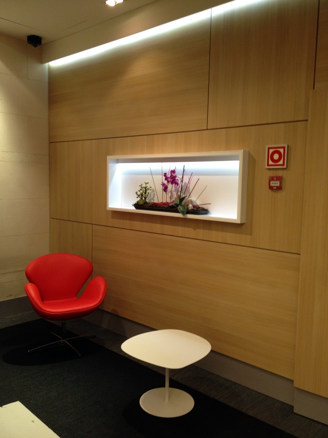 Calle ayala ideas reformas oficinas - Panelado de paredes ...