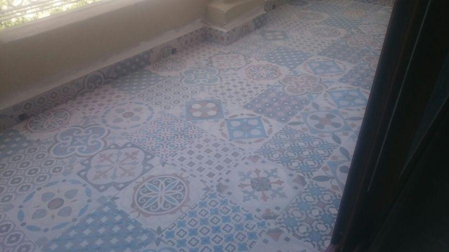 Foto azulejo hidraulico de reformes9cabanyal sl 934071 for Azulejo hidraulico bano