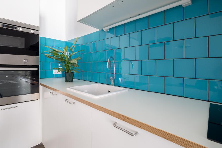 Un d plex que combina belleza y buen gusto ideas for Azulejos para cocina df
