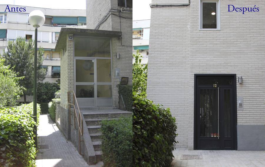 Bajar nivel de portal para hacer el edificio accesible