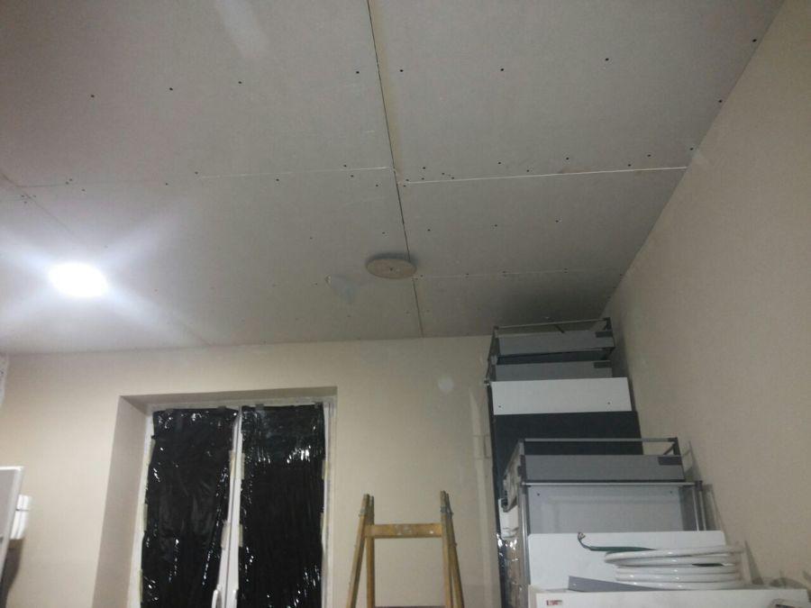 Cocina ikea 3 5 x 3 5 techo suelo muebles ideas pladur - Bajar techos con pladur ...