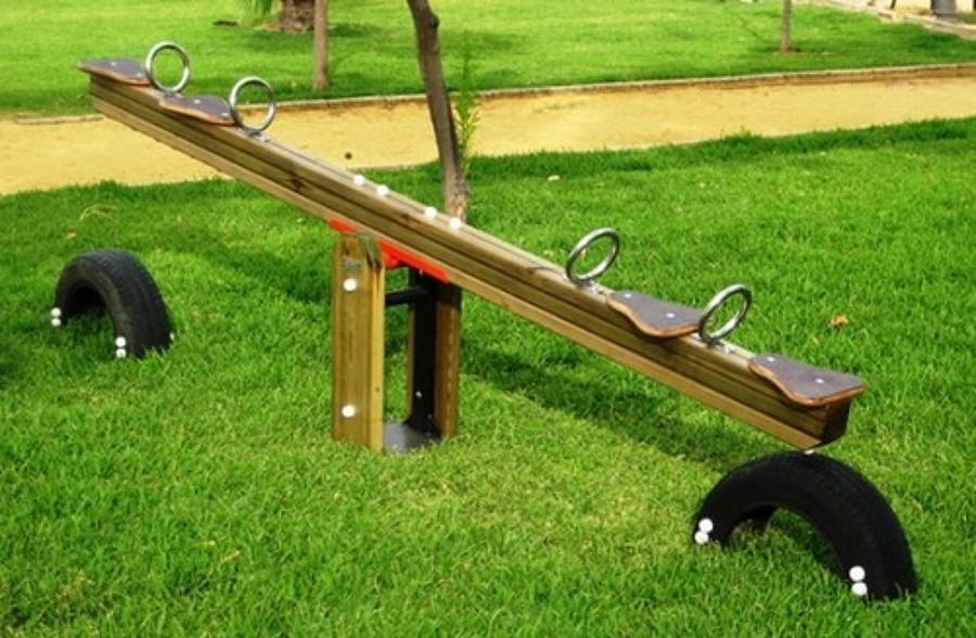 C mo hacer un balanc n de madera ideas reformas viviendas for Balancin madera jardin