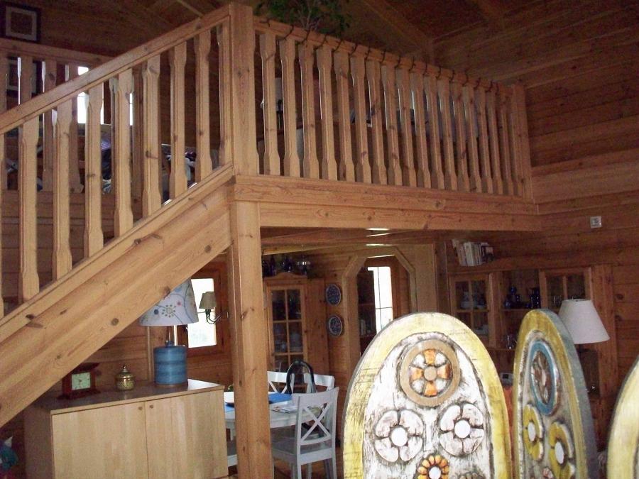 Foto balaustre escaleras techo y vigas de madera maciza de francisco carneiro uzal 834942 - Vigas de madera malaga ...