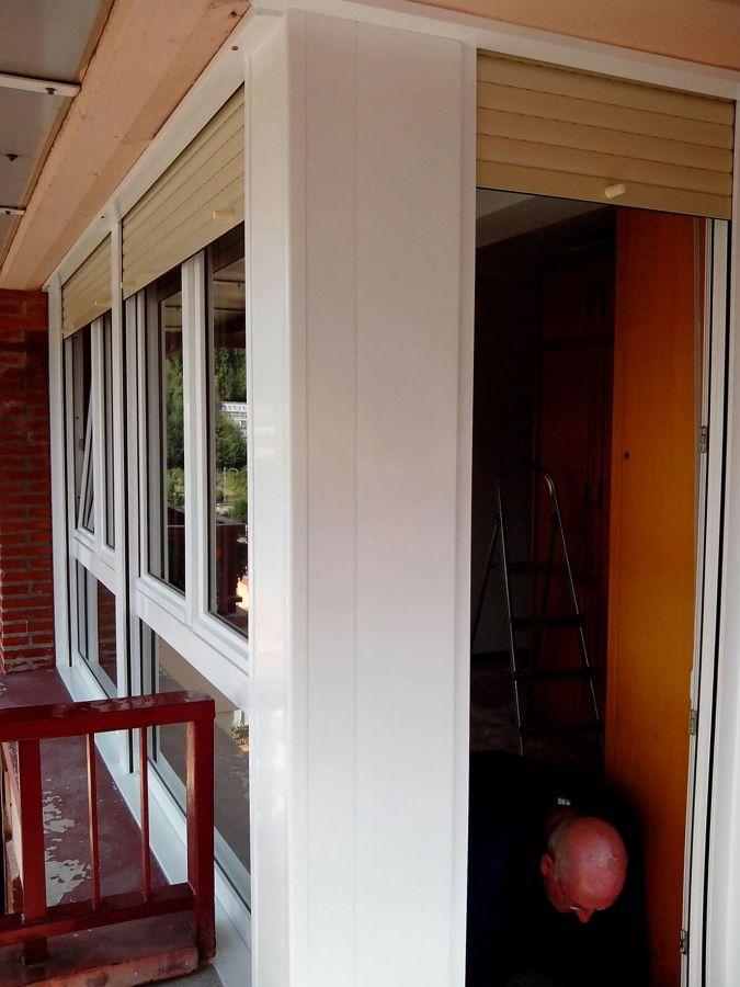 Carpinter a pvc blanco exterior y interior ideas for Carpinteria pvc precios