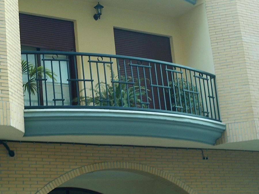 Balcón Curvado