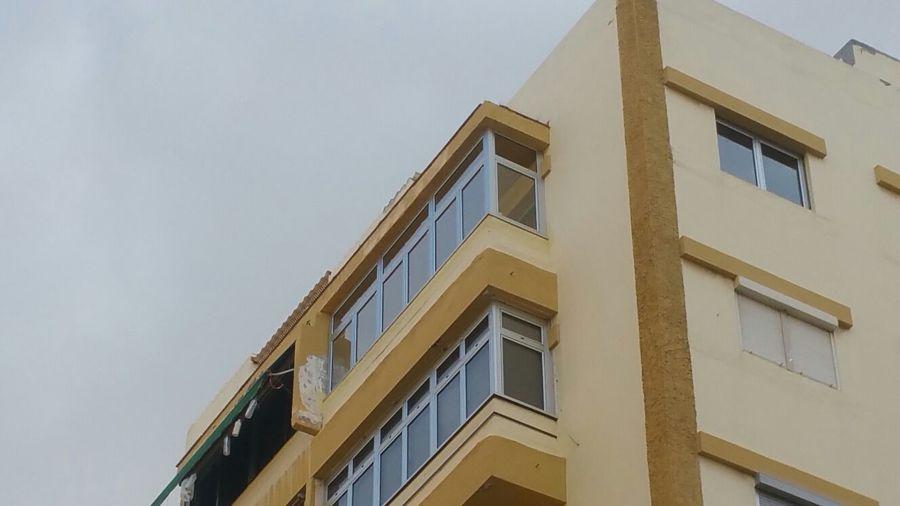 Balcon desde abajo