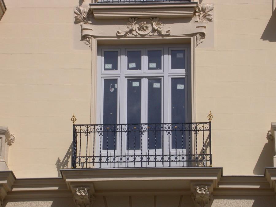 Balcón en madera