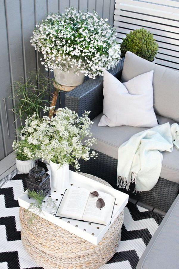 balcón gris