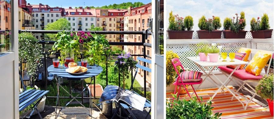 S cale partido a tu peque o balc n ideas decoradores for Sillones para balcon