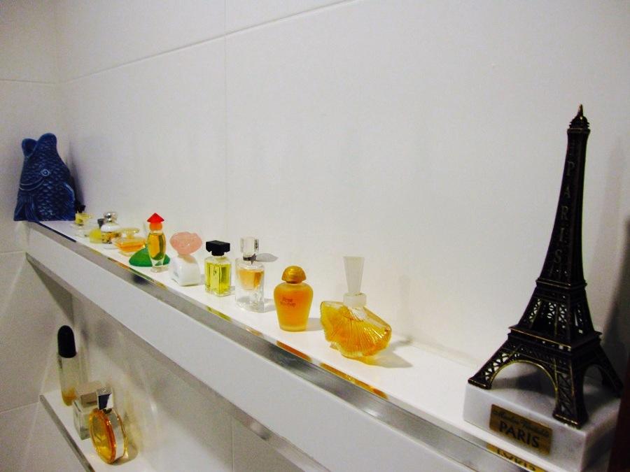 Balda de obra con colección de miniaturas