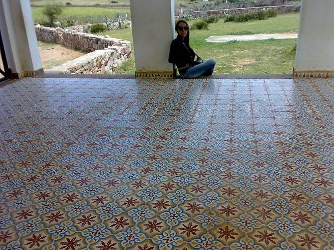 Foto baldosa hidr ulica exterior de baldosas hidr ulicas for Baldosas de terraza exterior