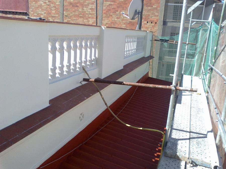 Balustrada acabada
