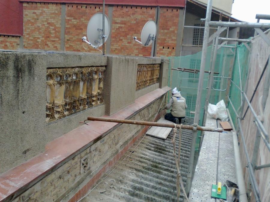 Balustrada antes