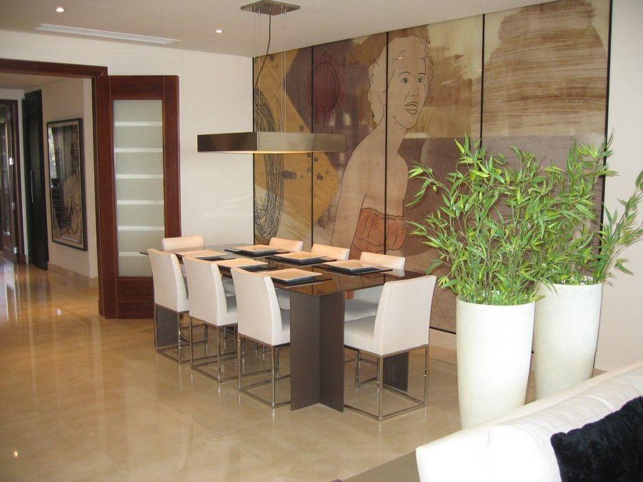 Bambú en salón