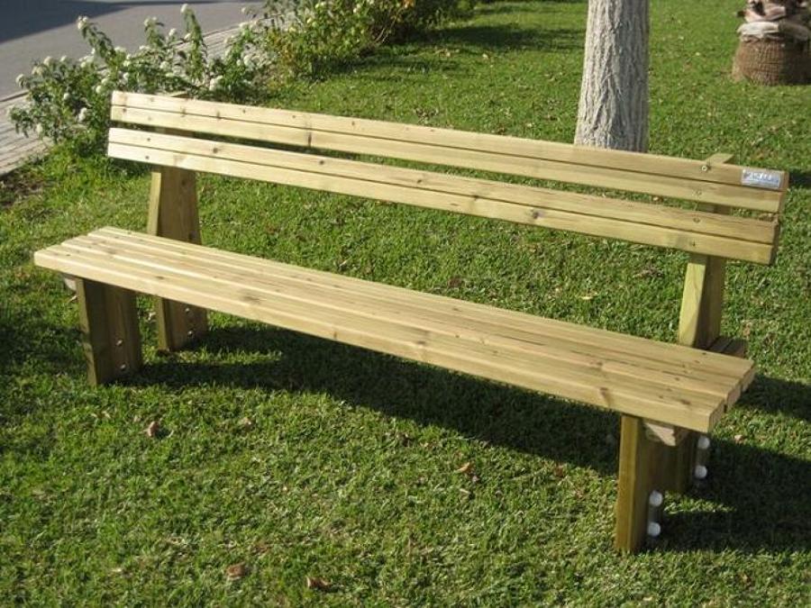 C mo barnizar un banco de madera ideas reformas viviendas - Banco madera jardin ...