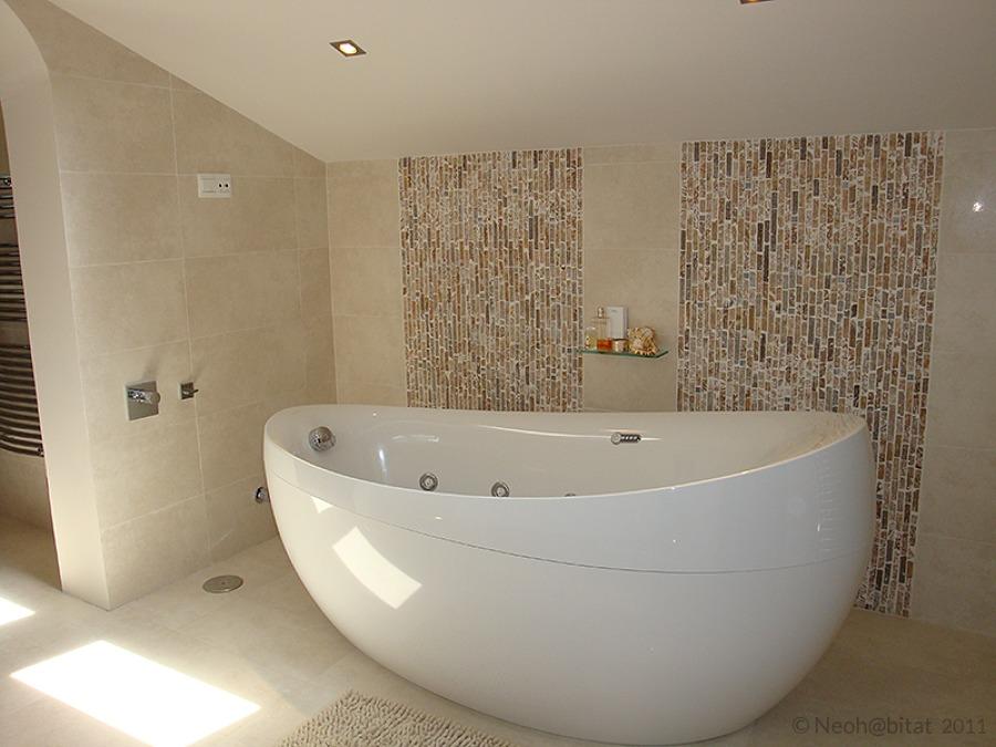 Bañera en Baño Principal en Vivienda en Marbella