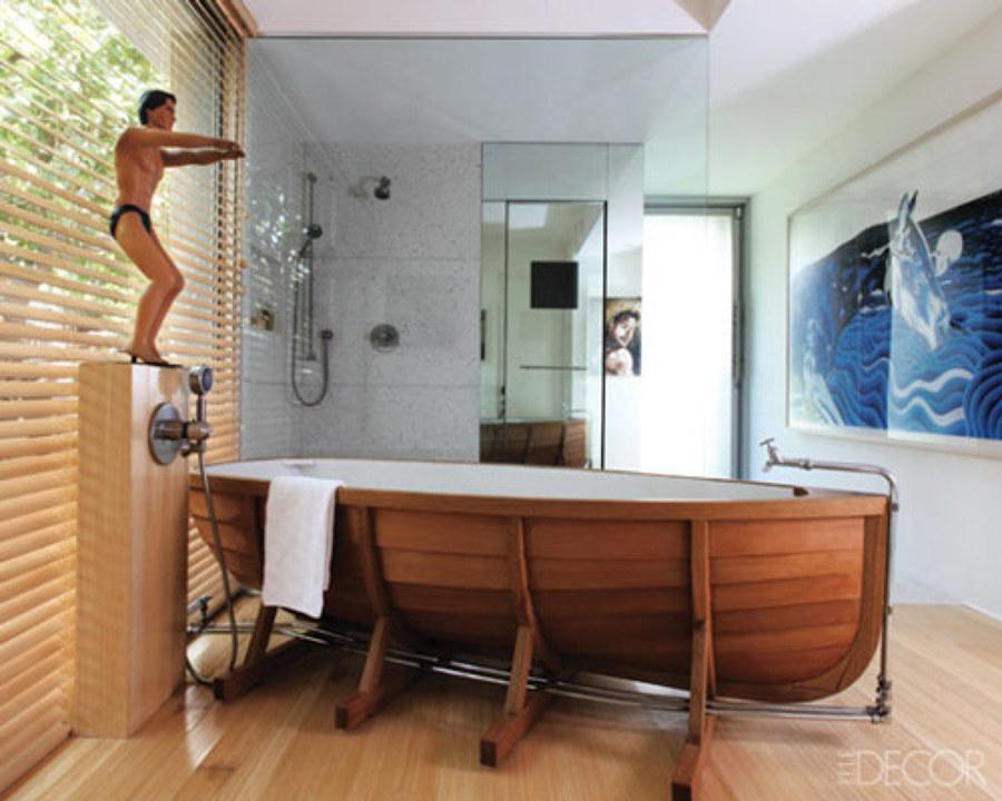 Bañera en bote