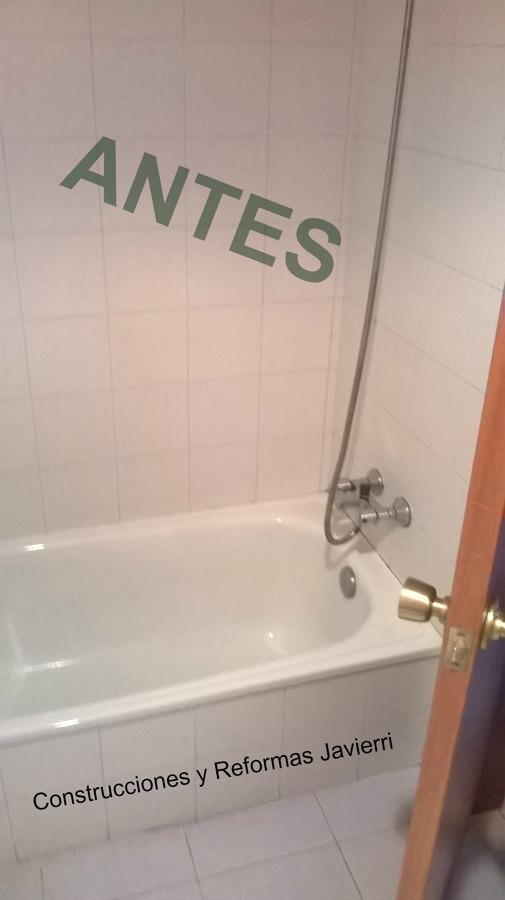 Bañera existente antes de comenzar los trabajos