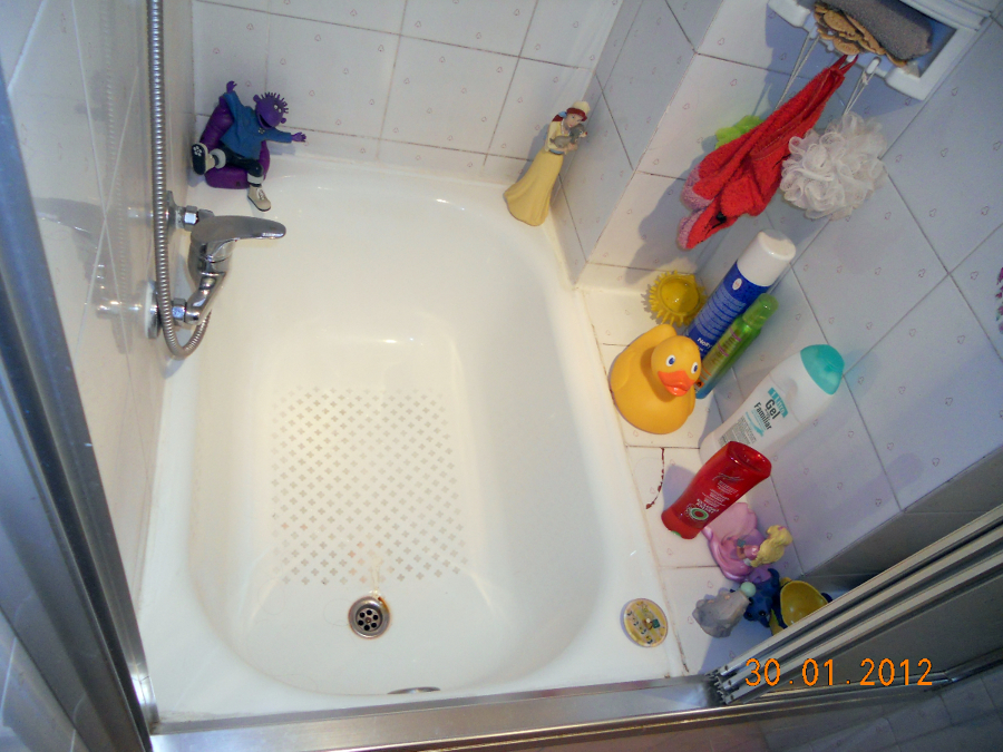 Bañera existente