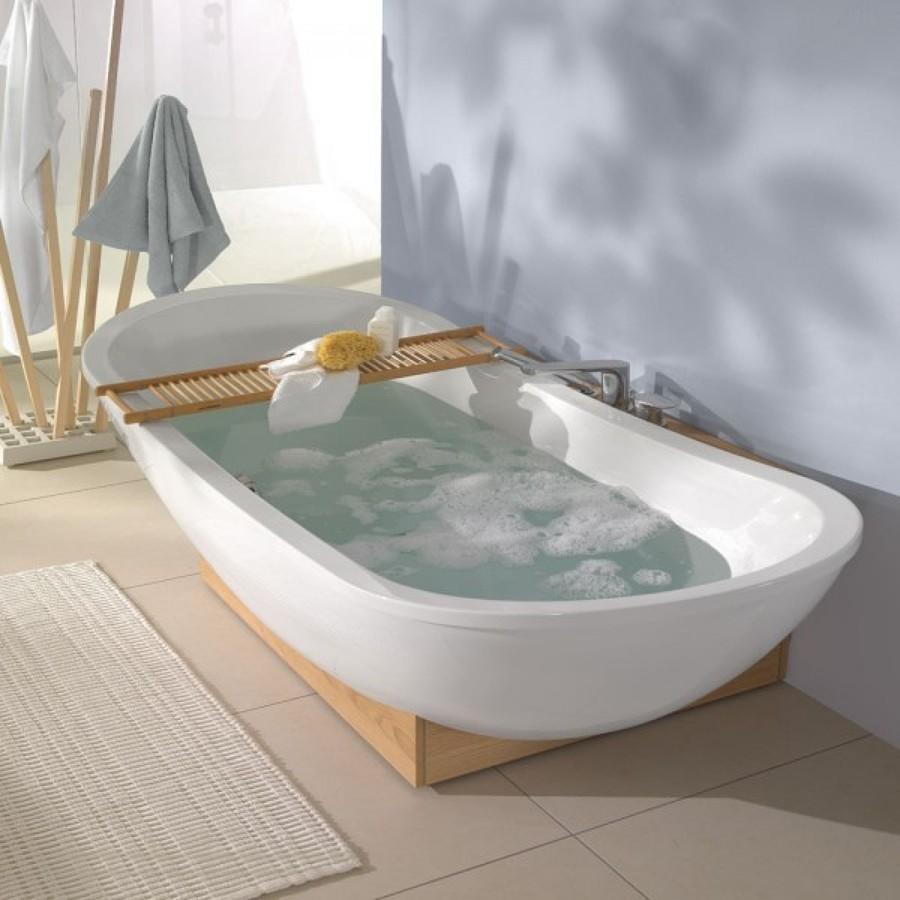 Bañera lista para el baño
