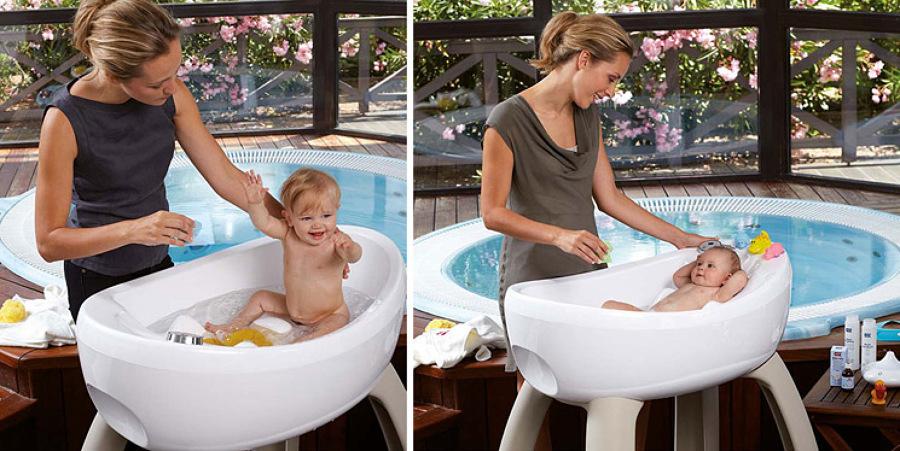 bañera para bebes