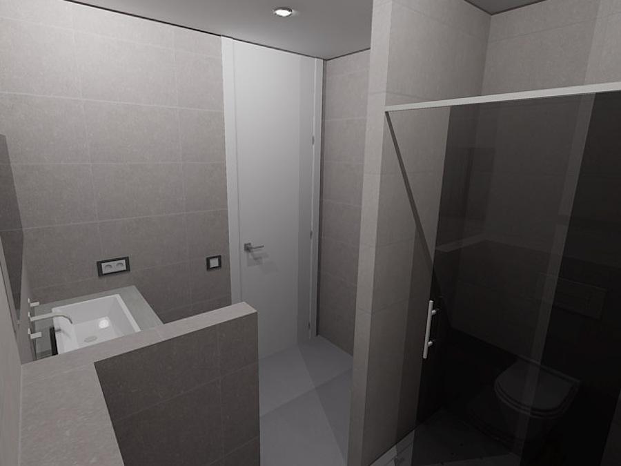 Baño 1 en 3D