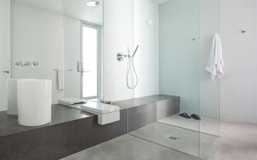 Baños Decorados Blanco: Robar de los Baños Decorados en Gris y Blanco