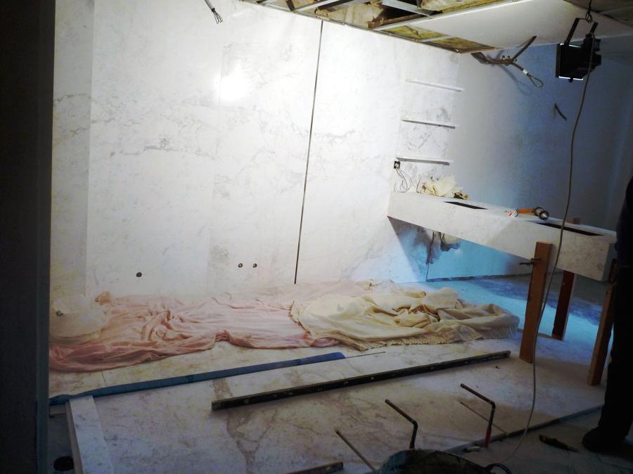 Reforma de una vivienda usando el m rmol ideas for Materiales de construccion marmol